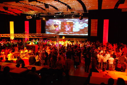 Single party cottbus stadthalle