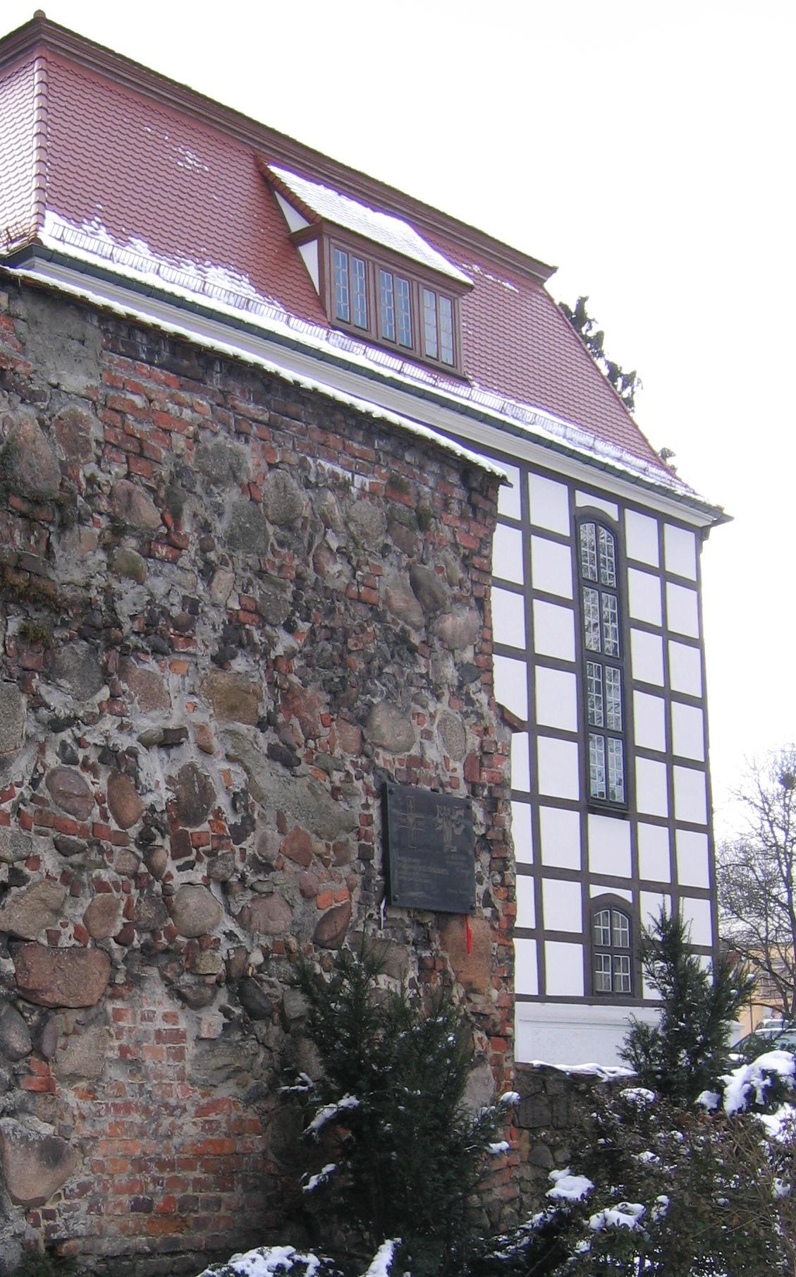 Fragmente der Wehrmauer