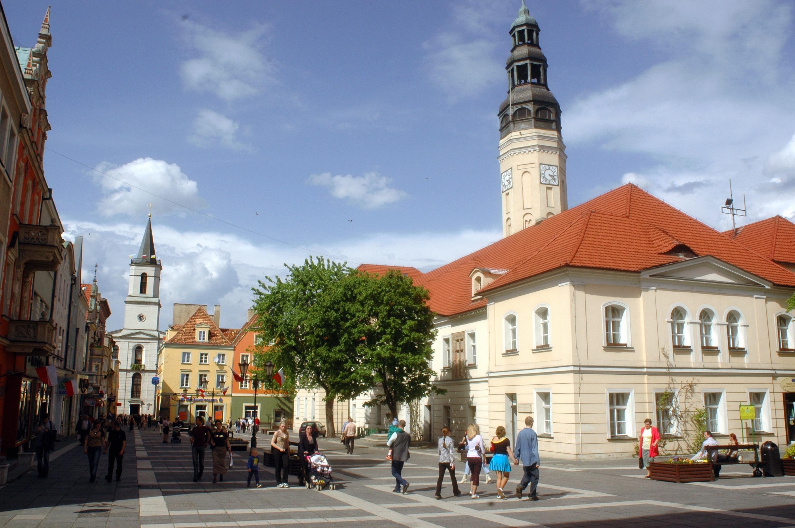 Altmarkt und Rathaus